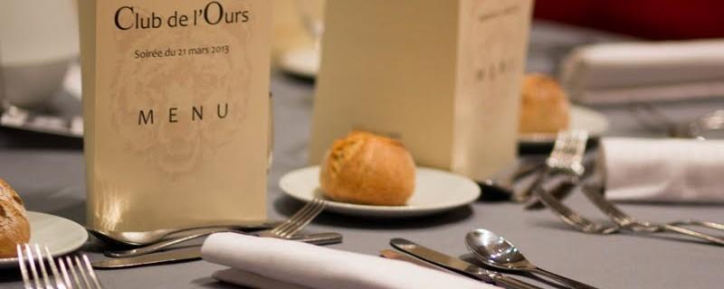 Le dîner de gala du 21 mars 2013